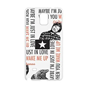 Cute cat and naughty boy Cell Phone Case for Samsung Galaxy Note4