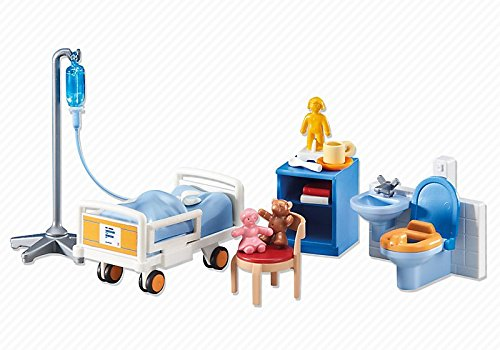 PLAYMOBILÂ Playmobil Add-On Series - Child Hospital Room