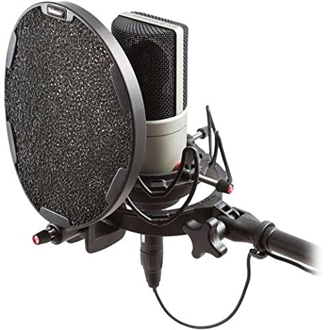 Rycote InVision Studio Kit with USM for 18- 55mm Large Diaphragm Recording Microphones, Includes USM Universal Microphone Shock-Mount, Universal Pop Filter
