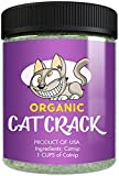 Cat Crack Organic Catnip, Premium Safe Nip Blend, Infused with Maximum Potency Your Kitty Will be Guaranteed to Go Crazy for! (1 Cup) For Sale