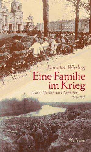Eine Familie im Krieg: Leben, Sterben und Schreiben 1914-1918 (German Edition)