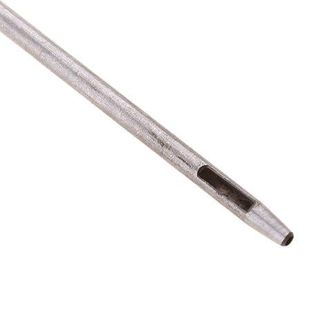 5,5 mm einfach zu handhaben perfeclan Locheisen Schlaghandwerkzeug Lochstanzer f/ür Leder G/ürtel