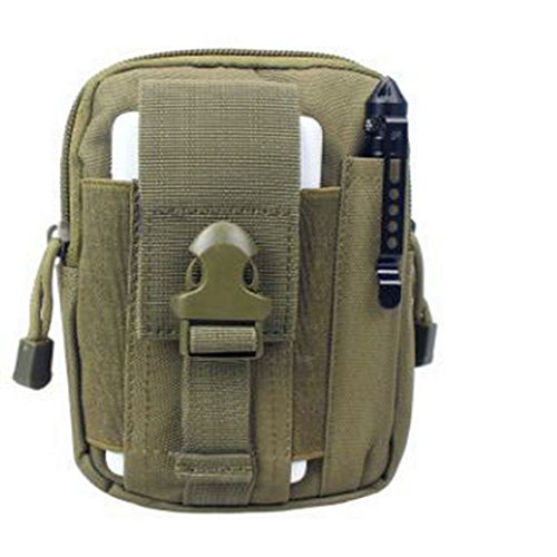 Multi-functional Outdoor Military Tactical Waist Pack Bag for Camping Hiking Trekking