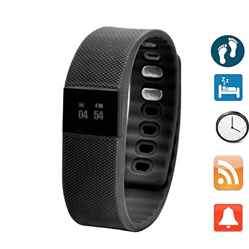 Smartband Wristband Waterproof Intelligent android black product image