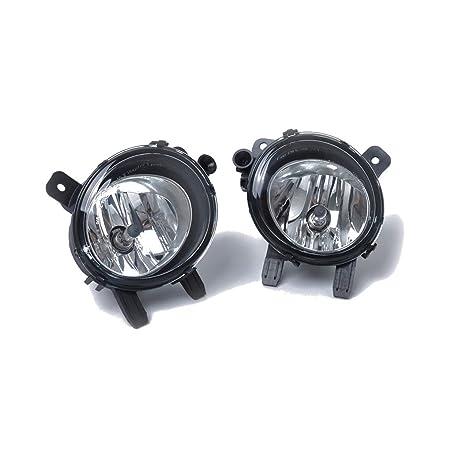 Censhaorme 1 par de Repuesto para 1//3//4 10-15 Serie F30 F35 F80 de Faros antiniebla Impermeable de la luz de Niebla 63177248911 63177248912