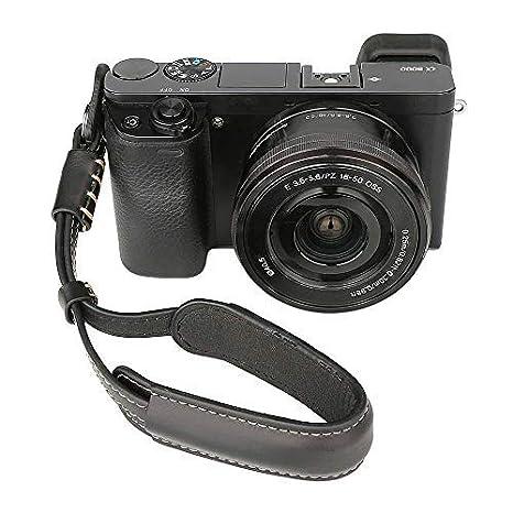 Amazon.com: Correa de muñeca ajustable para cámara A6000 ...