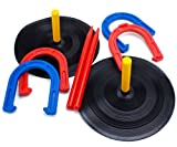 Deluxe Indoor Outdoor Horseshoe Game Set