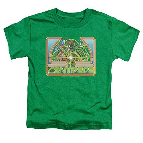 Boys Green Atari Centipede Logo T-shirt