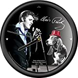 Signs 4 Fun Cpeh Elvis Hound Dog 12″ Clock Round