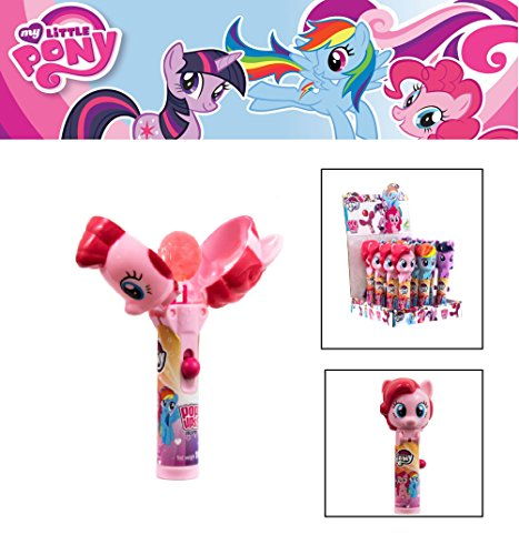 Black Starlight Sparkle (My Litlle Pony 1 Lolypop with pony figure and candy inside&Colorful Lollypop8SuckersMy Little Pony Pop Ups Lollipop Case with Chupa Chups Lollipops Special EditionGift)