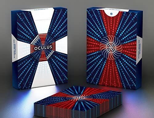 HCPC Oculus Playing Cards Magic /& 3 Dimensional Optical Illusions Rare Limited Custom Cardistry Deck