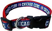 MLB Chicago Cubs Dog Collar, Medium
