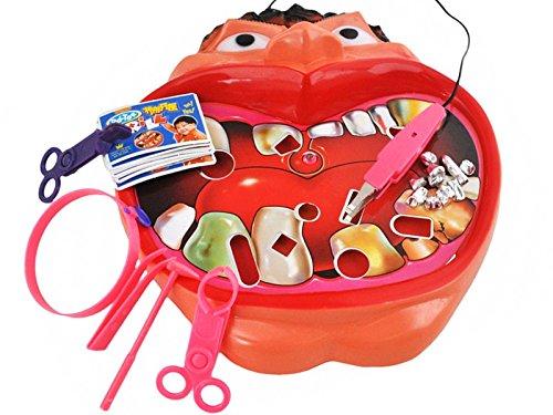 Zahnarzt Spiel Dentist Zähne Geschicklichtkeitsspiel Kinder Neu #1547 Iso Trade
