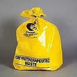 Health Care Logistics 18824 Chemotherapy Waste Bag, 12-16 Gal, 25 X 34