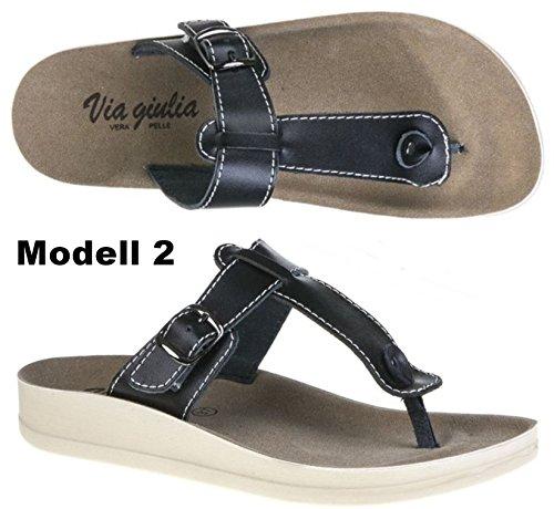 taschen-rucksack24de - Sandalias de vestir de Piel para mujer Modelo 2