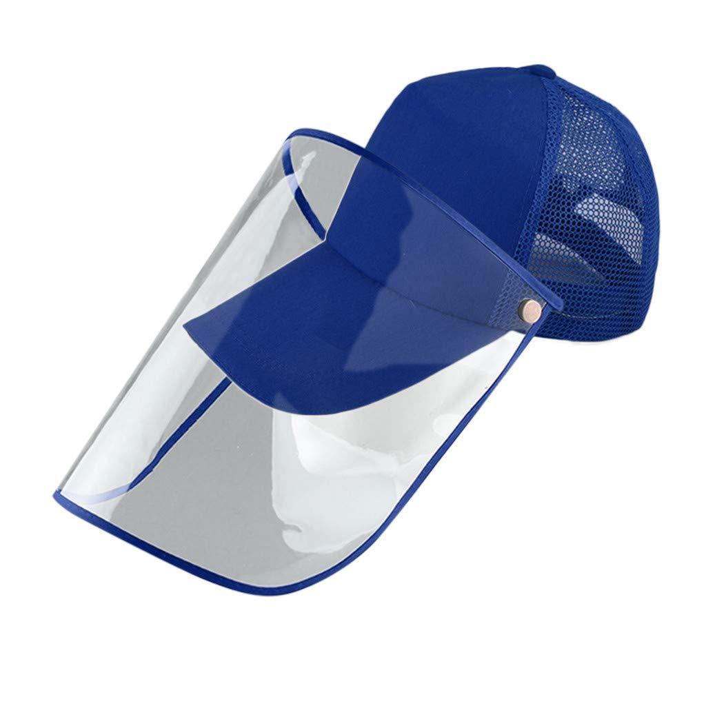 BIKETAFUWY Masks for Germ Protection,Antivirus Mask Antibacterial Mask Anti-Spitting Protective Hat Dustproof Baseball