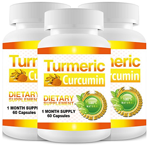 Pure Turmeric Curcumin Extract – 3 Month Supply