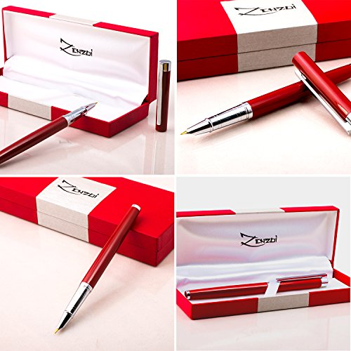 Fountain Pen With Ink Refill Converter And Gift Box