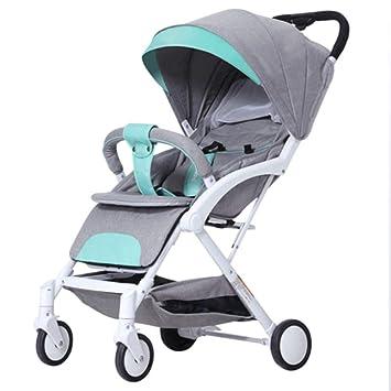 SHOWGG Cochecitos de bebé, carritos pequeños, carritos de Lujo urbanos de Alta Visibilidad,