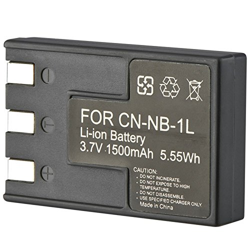 Theo&Cleo CANON NB-1LH NB-1L Battery For PowerShot Digital ELPH S110 S230 S330 (Canon Nb 1lh Rechargeable Battery)