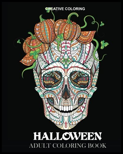 Halloween Adult Coloring Book (Coloring Books for Adults) -