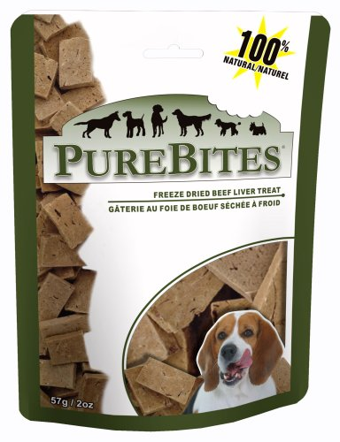 PureBites Beef Liver Dog Treats, 2 oz., My Pet Supplies