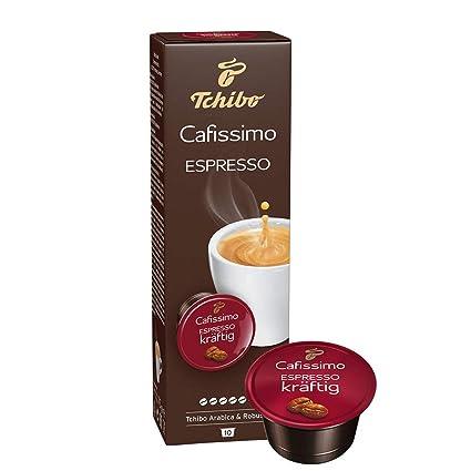 e8d889a2a6 Tchibo Cafissimo Espresso kräftig Kapseln, 10 Stück: Amazon.de ...