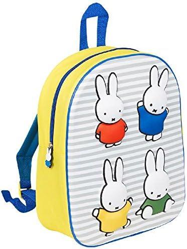Miffy 0679032 sac à dos bleu jaune