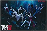 True Blood Cast Shot 'Do Bad Things' in Woods Ready to Feed 11 x 17 Litho