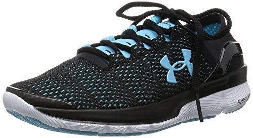 Under Armour Vrouwen Ua Speedform Apollo 2 Zwart / Sky Blauw / Wit