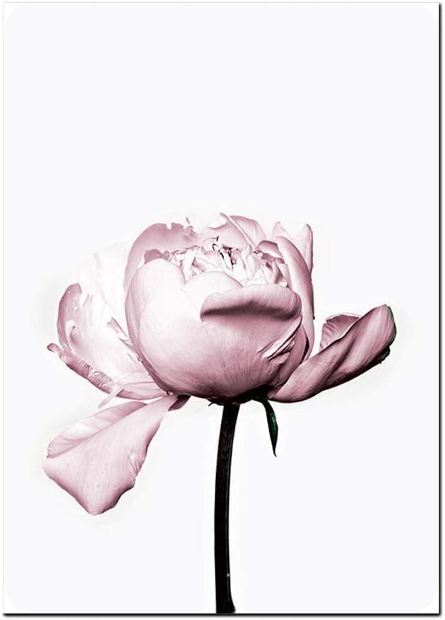 Allah Islamique Mur Art Toile Affiche Rose Fleur Vieille Porte Imprimer Nordique Image D/écorative Peinture Mosqu/ée D/écor-60x80x3 Pcscm Pas de Cadre