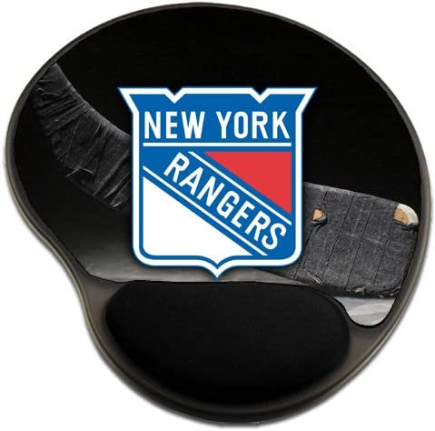 Rangers Hockey Mousepad Base with Wrist Support Mouse Pad Great Gift Idea New York