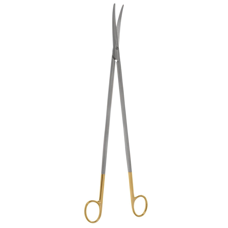 V. Mueller RH1653 Vital Metzenbaum Dissecting Scissor, Straight, Blunt/Tungsten Carbide, Cutting Edges, 5-3/4'' Length , 5.75'' Length
