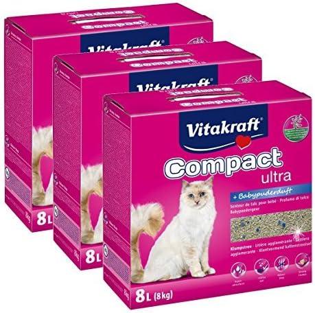Vita Fuerza gato dispersa Compact Ultra Plus – 24 kg: Amazon.es: Productos para mascotas