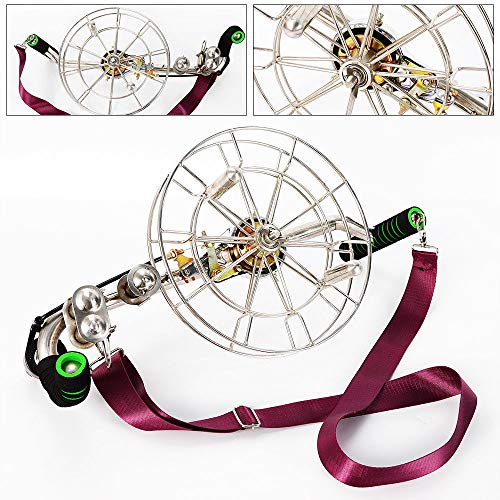 """TFCFL 11"""" Durable Stainless Steel Strong Kite Line Winder Reel Brakes Control Adult Comes with a Shoulder Strap from TFCFL"""