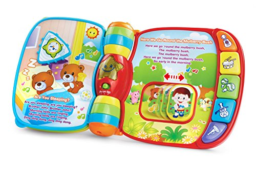 VTech Musical Rhymes Book  Frustration Free Packaging  (Large Image)