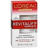 L'Oreal Skin Expertise RevitaLift Complete Eye Anti-Wrinkle & Firming Cream 0.50 oz (Pack of 10)