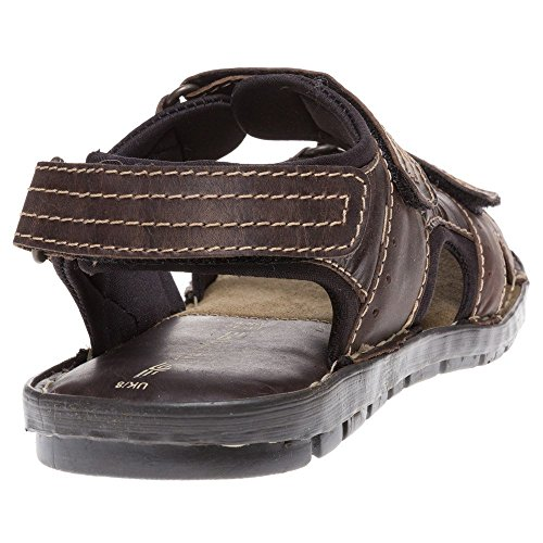 Red Tape Tay Sandals Brown 9 UK PNJh5Ul