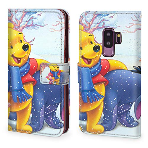DISNEY COLLECTION Wallet Case Fit for Samsung Galaxy S9 Plus (2018) (6.2