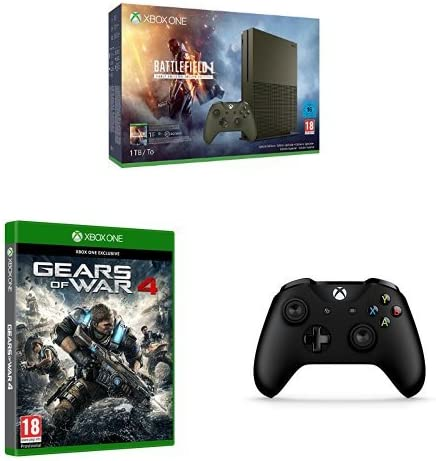 Xbox One - Pack Consola S 1 TB: Battlefield 1 + Gears Of War 4 + mando adicional: Amazon.es: Videojuegos