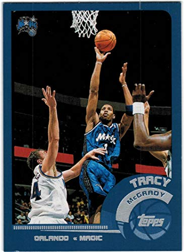 2002-03 Topps Orlando Magic Team Set with Tracy McGrady & Patrick Ewing - 7 NBA Cards
