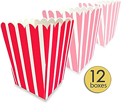 Popcorn bags 12 Party Bags-Circus-Carnival-Sports Parties