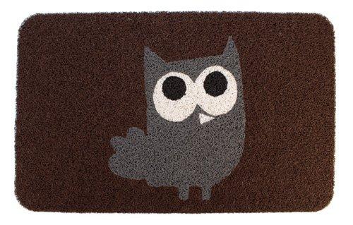 Kikkerland Owl (Kikkerland DM24 Owl Doormat, 30-Inch by 18-Inch)