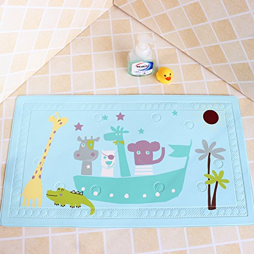 ZEM-PXD Cartoon Tasteless Bathroom Mat Bathroom Shower Mat Baby Bath Pad,Giraffe