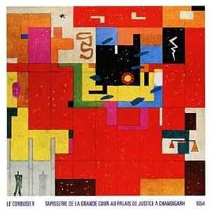 Le Corbusier Póster De Impresión pared Alfombra para chandigarh 1954