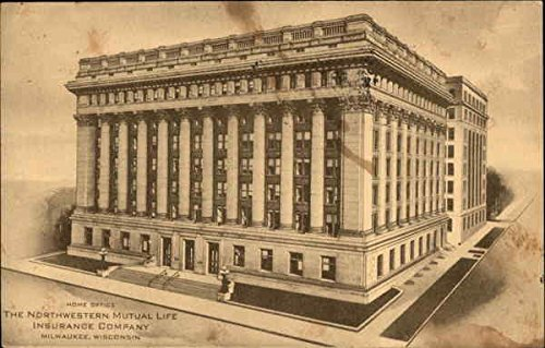 the-northwestern-mutual-life-insurance-company-milwaukee-wisconsin-original-vintage-postcard