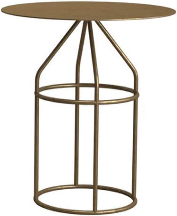 Kwaliteit MBZL bijzettafel, Nordic salontafel, minimalistisch ijzer, kleine woning, botsing, kleine ronde tafel, gouden bijzettafel, woonkamer, creatief design A zTTYz01