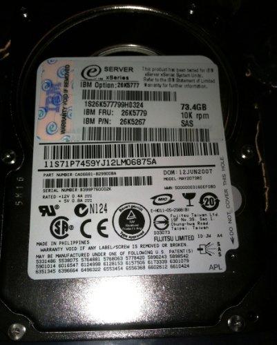 73gb 10k Rpm Disk Drive - 8