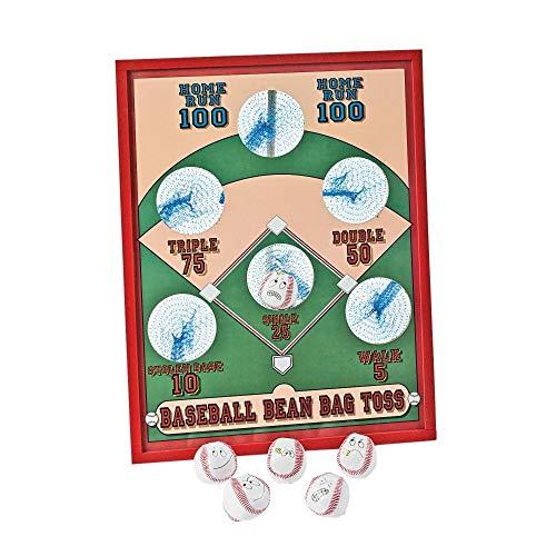 Fun Express Baseball Bean Bag Toss Game