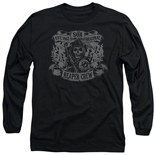 Long Sleeve: Sons Of Anarchy - Original Reaper Crew Longsleeve Shirt Size XL